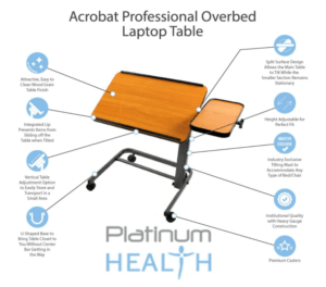 Post-Surgery Supplies - Acrobat Professional Overbed Table